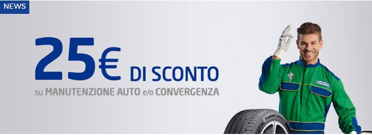 promozione pneumatici continental