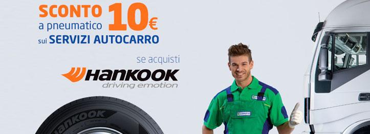 promozione pneumatici hankook